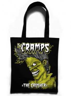 THE CRAMPS - The Crusher Tote Bag