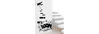 Bomber 5 / Wall Stickers