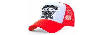 MOTOMANIACS - R/W Trucker Cap