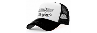 LEVIATHAN, Co. - B/W Trucker Cap