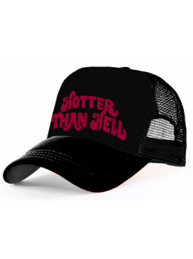 HOTTER THAN HELL - Trucker Cap