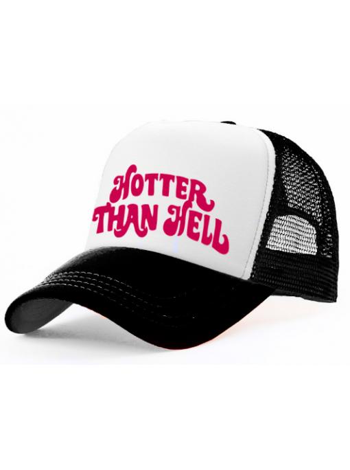 HOTTER THAN HELL - Trucker Cap