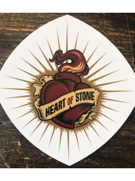 HEART OF STONE - Sticker