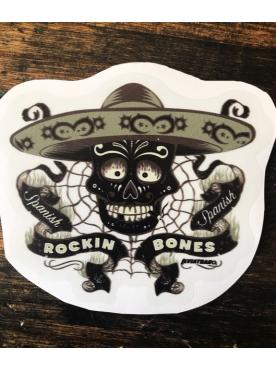 ROCKIN BONES - Sticker