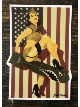 BOMBSHELL ATTACK - Sticker