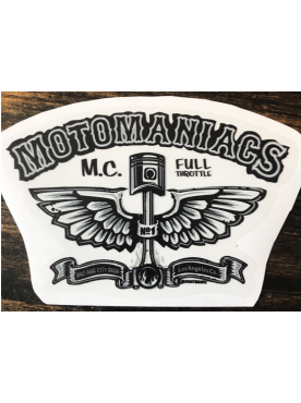 MOTOMANIACS - Sticker