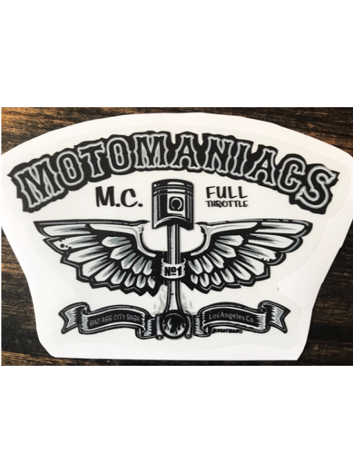 MOTOMANIACS - Sticker
