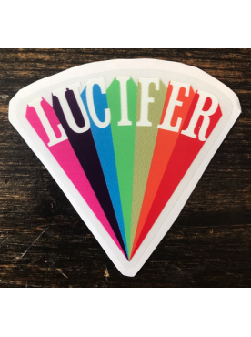 LUCIFER RISING - Sticker