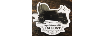 I'M LOST - Sticker