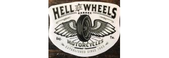 HELL ON WHEELS - Sticker