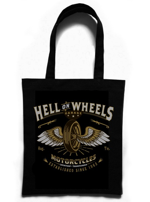 HELL ON WHEELS - Handbag