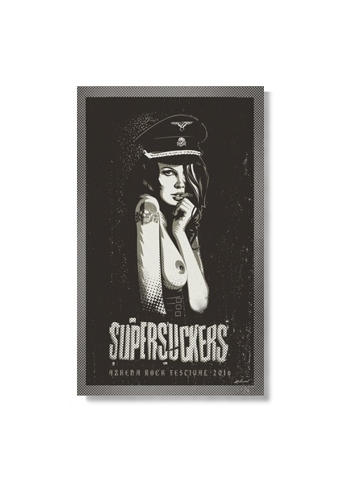 SUPERSUCKERS - Poster