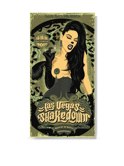 LAS VEGAS SHAKEDOWN 2011 - Poster