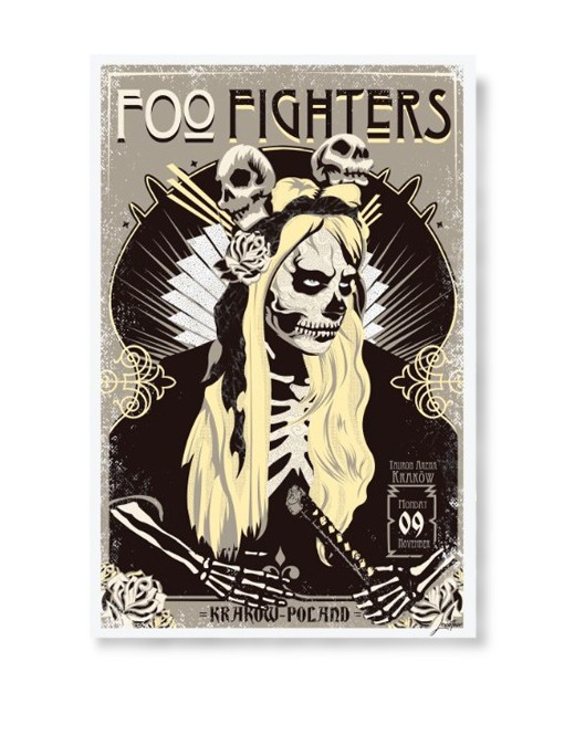 FOO FIGHTERS  - Poster