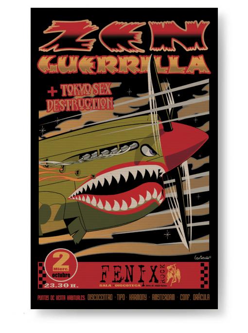 ZEN GUERRILLA - Poster