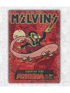 MELVINS - Poster