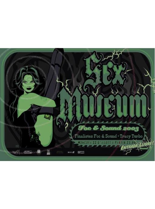 SEX MUSEUM - Poster