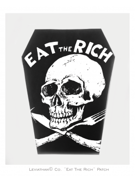 EAT THE RICH - Patch