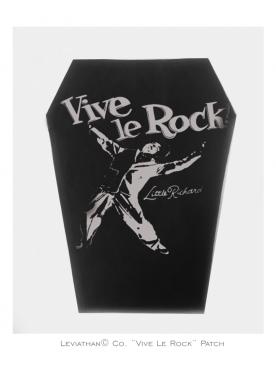 VIVE LE ROCK - Patch