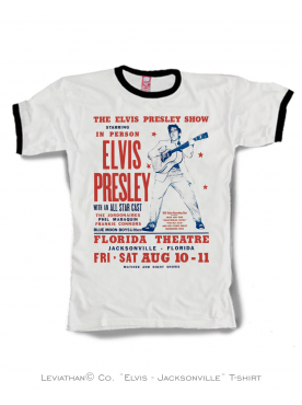 ELVIS - JACKSONVILLE - Men T-SHIRT
