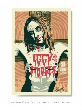 IGGY & THE STOOGES - Poster