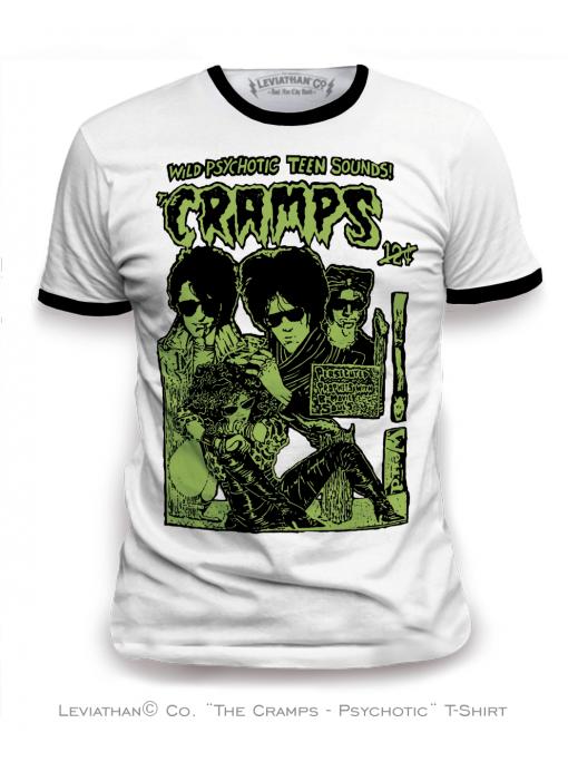 THE CRAMPS ★ Psychotic - Men