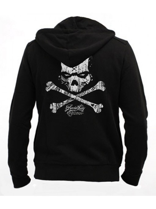 DarknesSkull- Men Zip Hoodie