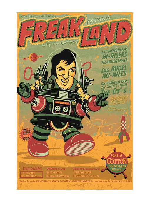 Freakland 2007 - Robot Fucker Elvis