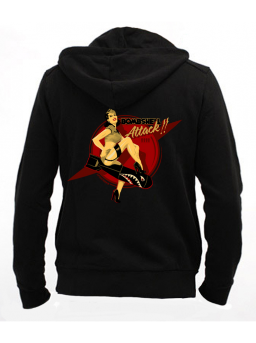 Bombshell Attack - Men Zip - SOLD OUT - Hoodie