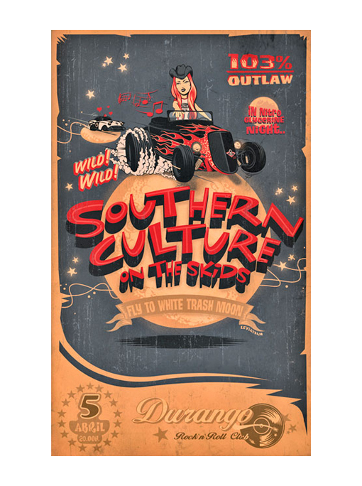 Southern Culture on the Skids - Poster leviathan