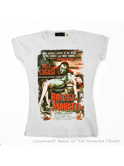 BRIDE OF THE MONSTER - 1955 - Movie T-Shirt