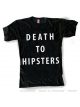 DEATH TO HIPSTERS, Black, Men, tshirt, camiseta, leviathan