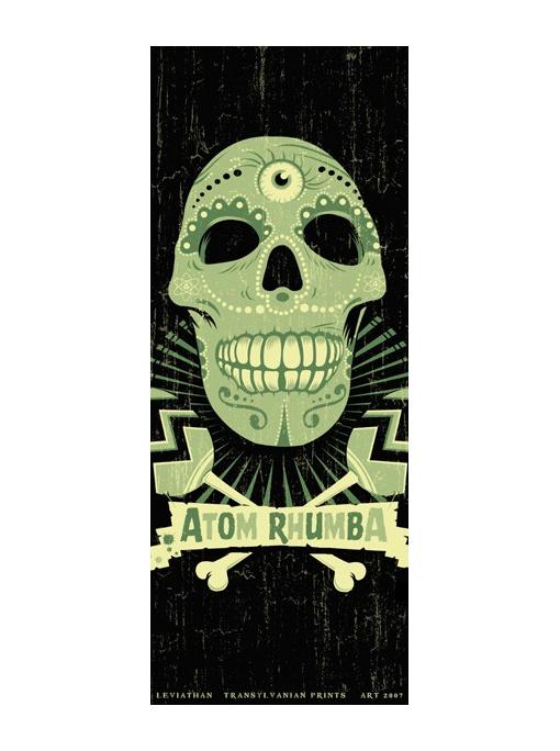 ATOM RHUMBA - Tour Poster