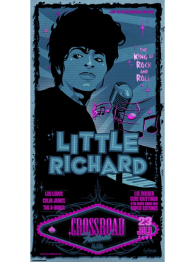 LITTLE RICHARD - Poster 2005