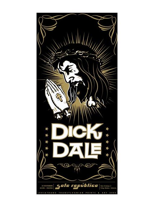 DICK DALE -Poster