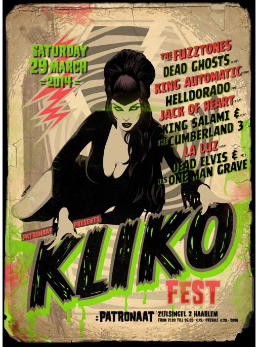 KLIKO FEST. 2014 - Poster
