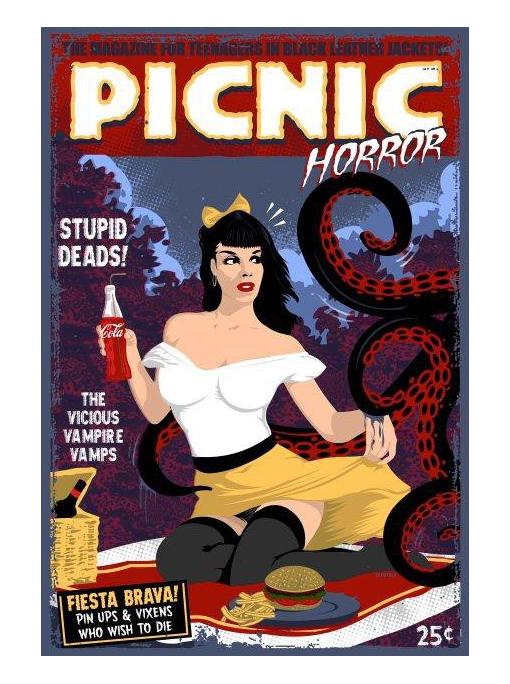PICNIC HORROR! - Illustration