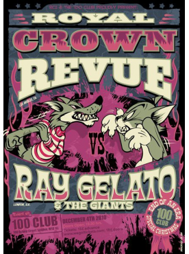 ROYAL CROWN REVUE vs. RAY GELATO - Poster