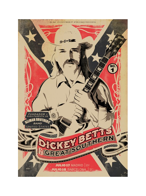 DICKEY BETTS - Poster