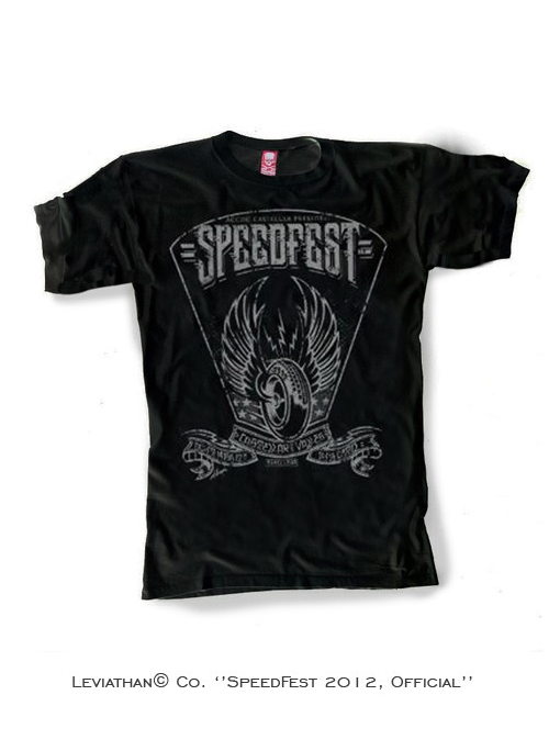 SpeedFest 2012, Official T-Shirt - Men